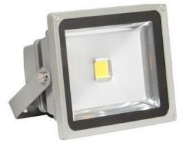 Projetor LED 4ª Geração MultiChip 30W Branco Frio
