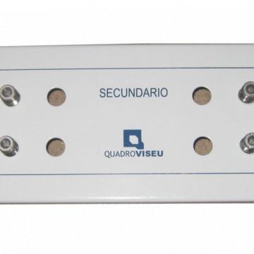 Quadro Viseu MÓDULO RC-CC 1X12 SAÍDAS PARA ATI/CATI MODULAR VISBOX (2 ESPAÇOS) VB.618