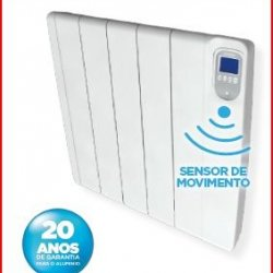 Radiador 1800W digital c/ detetor de movimento PRISMA+1800