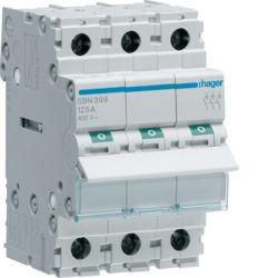 SBN399 - Interruptor Modular 3P 125A HAGER EAN:3250615510341