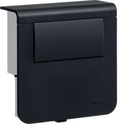 SL200809LED9011 - Sup. SL LED c/ transf. 30W, pr.grafite HAGER EAN:4012740980289