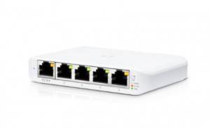 UBIQUITI USW-FLEX-MINI UNIFI COMPACT 5-PORT DESKTOP SWITCH