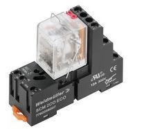 Weidmuller DRMKIT 24VAC 4CI LD/PB - c/LED+botão teste (base 3 pisos) 1542530000
