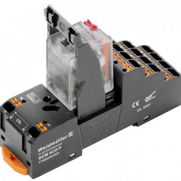 Weidmuller DRMKITP 230VAC 4CO LD/PB Push In 2576060000