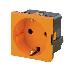 Weidmuller Tomada schuko laranja - IE-FCI-PWB-DE-OR 1554000000