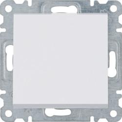 WL0110 - lumina 2 Botão simples, branco HAGER EAN:8694407000293