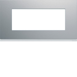 WXP0105 - gallery 5M Quadro horizontal, alumínio HAGER EAN:3250617199223