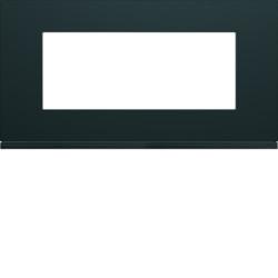 WXP0205 - gallery 5M Quadro horizontal, preto HAGER EAN:3250617199377