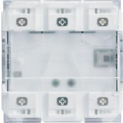WXT312 - Mecanismo gallery KNX 2 teclas com LED HAGER EAN:3250618500394