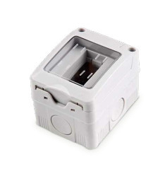 001203763 - Módulo de caixa de superfície 1 com tampa IP55 8433373037632