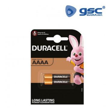 009000145 - Pilha alcalina Duracell M3 AAAA Blister 2 5000394041700