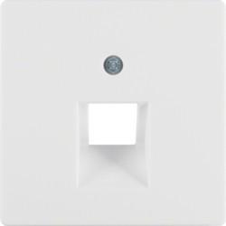 14076089 - Q.x - espelho RJ45 simples, branco BERKER EAN:4011334321774