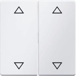 16446089 - Q.x - tecla dupla 4 setas, branco BERKER EAN:4011334312727