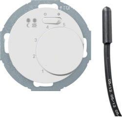 20342079 - R.classic - termóst.chão c/ON/OFF, branc BERKER EAN:4011334393559