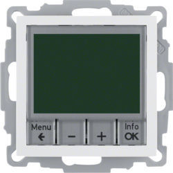 20448989 - S.1/B.x - termóstato programável, branco BERKER EAN:4011334354703