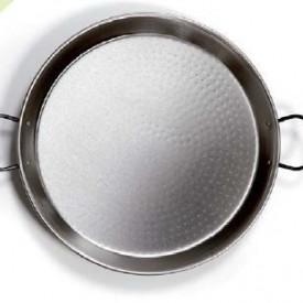 2701793 - 8433373017931 Paella pan polido aço Ø380mm 8 porções