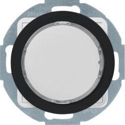 29522045 - R.x - Sinaliz. LED verde/enc, preto BERKER EAN:4011334414629