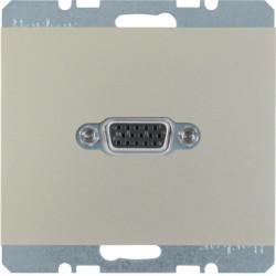 3315407004 - K.1/K.5 - tomada VGA, inox lac BERKER EAN:4011334330332
