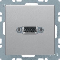 3315416084 - Q.x - tomada VGA paraf., alumínio BERKER EAN:4011334443773