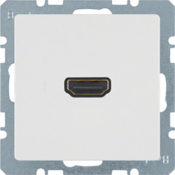 3315436089 - Q.x - tomada HDMI ficha 90º, branco BERKER EAN:4011334341833