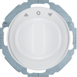 38112189 - R.classic - comutador estores, branco BERKER EAN:4011334489412