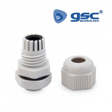 501000000 - Bolsa 5u Kit de prensa-cabo + gaxeta + porca M12 3-6,5 mm IP68 8433373020795