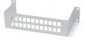 """546620 -8424450169117 TELEVES - Suporte Adaptador Coaxial """"F"""" Fêmea - """"F"""" Fêmea, para Paneis (Ref. 546610)"""