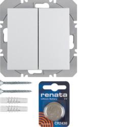 85656289 - S.1/B.3/B.7 - BP duplo KNX RF, branco BERKER EAN:4011334370611