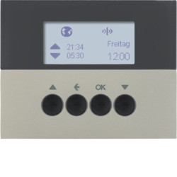 85745173 - K.1/K.5-progr. hor. est. KNX RF,aço inox BERKER EAN:4011334375630
