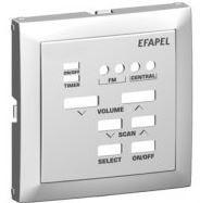 90703 TGE - 5603011556372 CENTRO P/COMANDO DE 1 CANAL MONO C/FM GELO EFAPEL