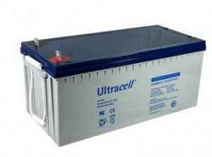 Bateria de Gel 12V 200Ah (522 x 240 x 218 mm) - Ultracell