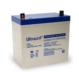 Bateria de Gel 12V 55Ah (229 x 138 x 209 mm) - Ultracell