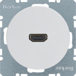 BERKER - 3315422089 - R.1/R.3 - tomada HDMI, branco 23