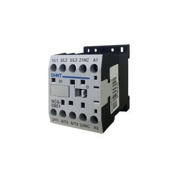 CHINT - CONTACTOR TRIPOLAR MINI 20AC1/9AC3 1NC 230VAC NC63901230