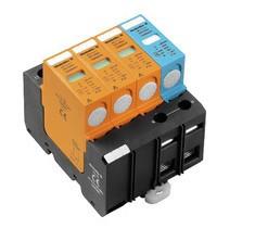 Descarregador Sobretensão VPU II 3+1 280V/40KA Weidmuller
