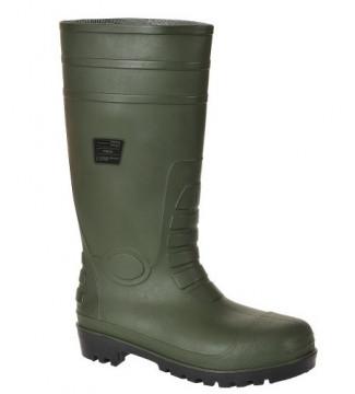 Equipamentos de Protecção - 5863 - Galocha pvc/ nitrilo verde s5 aço src 43