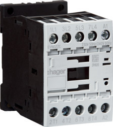 EVN022C - Contactor 4P 22A 230 V 50 Hz/240 V 60 Hz HAGER EAN:3250612236329