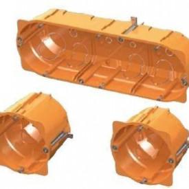 JSL Caixas Instalacao Interior Caixa dupla de aparelhagem agrupável -