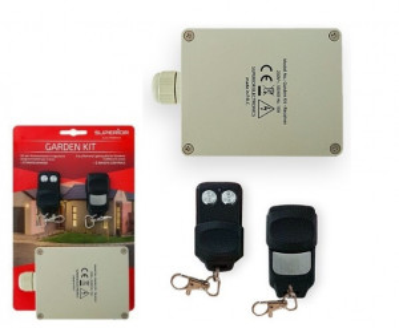 Kit Emissor Receptor 2 Canais e 2 Comandos Especial p/ Jardim - SUPERIOR