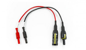 KITPCMC4 - HA000758 - Kit incluindo 2 adaptadores Multi-Contact 4 (banana para conector macho MC4 / banana para conector fêmea MC4) HT ITALIA