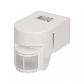 OR-CR-202/W ORNO - Detector De Movimento Ip44 180º Branco