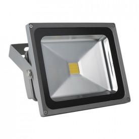 Projetor LED 4ª Geração MultiChip 20W Branco Quente