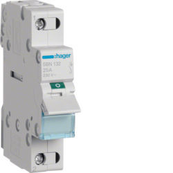 SBN132 - Interruptor Modular 1P 32A HAGER EAN:3250615510129