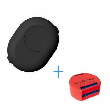 ShellyButtonBlack - Uma maneira segura de usar o Shelly 1 e o Shelly 1PM