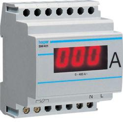 SM401 - Amperímetro digital 0-400/5A HAGER EAN:3250615634016