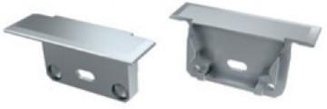 TP2101 - Topo Plastico Silver P/Perfil SEVILHA - Quant. fornecida = 1 un