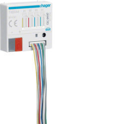 TXB344 - Mód. 4 entr. + 4 saídas Leds KNX HAGER EAN:3250616049055