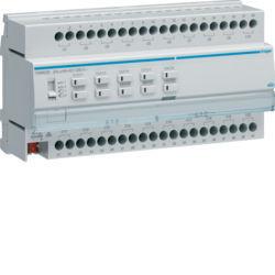 TXM620D - Actuador bin./est. 20 canais 16A Cap KNX HAGER EAN:3250616048782