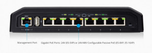 Ubiquiti ES-5XP EdgeSwitch 5XP