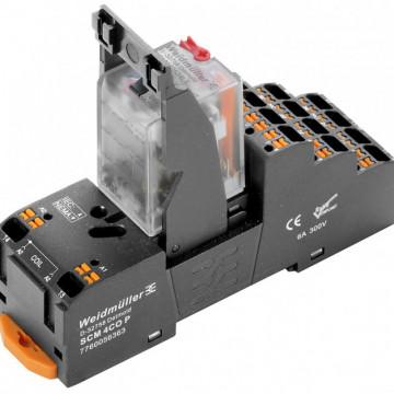 Weidmuller DRMKITP 24VAC 4CO LD/PB Push In 2576100000